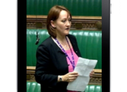 Labour MP delivers first ever iPad Commons speech - photo 1