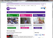 BT MyDonate charity website to be iPhone app too - photo 3