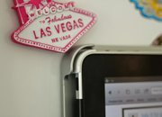 FridgePad Colour iPad mount hands-on - photo 3