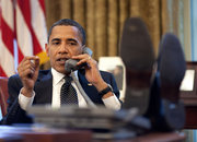 Barack Obama: White House phones not cool - photo 2