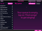APP OF THE DAY: Lucky Voice Karaoke review (iPad / iPad 2) - photo 5