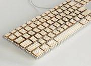 The Engrain Tactile keyboard gives you wood - photo 5