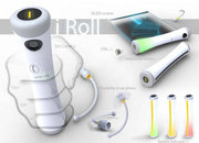 iRoll smartphone concept swaps practicality for looks - photo 2