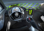 Renault Frendzy concept features built in BlackBerry PlayBook - photo 1