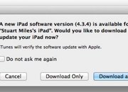 iOS 4.3.4 update for iPhone and iPad released - photo 1