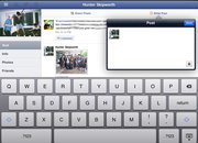 Facebook iPad app hands-on - photo 2