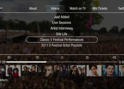 V Festival TiVo app fires up on Virgin Media - photo 2