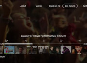 V Festival TiVo app fires up on Virgin Media - photo 3
