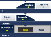 Eurostar, now calling at Android Market and iPhone App Store   - photo 2