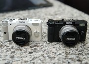 Pentax Q teeny-tiny hybrid camera finger tips-on - photo 2