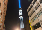 BT Tower becomes Star Wars lightsaber - photo 4