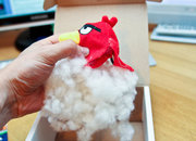 Dead Angry Bird delivered to Pocket-lint with note saying 'Don't F**k with the Fish' - photo 4