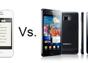 iPhone 4S vs Samsung Galaxy S II - photo 1