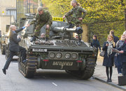 Battlefield 3 Tanksis help London commuters to work on launch day - photo 3