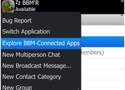 BlackBerry Messenger update makes app sharing easy - photo 3