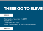 Google Android 'These go to eleven' music event scheduled for 16 November - photo 1