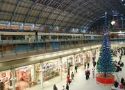 LEGO Christmas tree decks the halls at St. Pancras Station - photo 2
