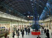 LEGO Christmas tree decks the halls at St. Pancras Station - photo 5