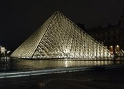 Toshiba LED Louvre illumination: Pictures and bright-eyes on - photo 3