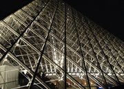 Toshiba LED Louvre illumination: Pictures and bright-eyes on - photo 5