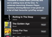Shazam Player offers new iPhone music player, brings lyrics to life - photo 5
