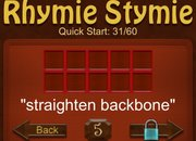 APP OF THE DAY: RhymieStymie review (iPhone) - photo 1