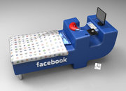 Facebook bed concept: If only you didn't have to eat - photo 2