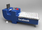 Facebook bed concept: If only you didn't have to eat - photo 4
