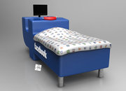 Facebook bed concept: If only you didn't have to eat - photo 5