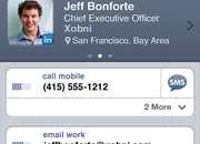 Xobni Smartr Contacts lands on iPhone - photo 2