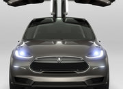Tesla Model X SUV goes back to the future - photo 4