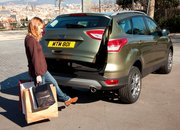 Ford Kuga goes handsfree with kick-activated boot (video) - photo 2