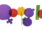 Google doodle celebrates International Women's Day... plus the one you'll never see - photo 1