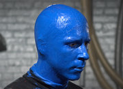 Nikon D800 low light test with the Blue  Man Group - photo 5
