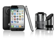 iPhone PRO would house 3D camera and detachable DSLR lens - photo 2