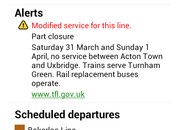 Google Maps adds London Underground real time alerts - photo 5