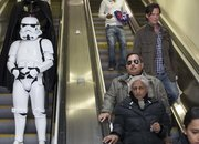 Darth Vader and Co hit the streets of London for Kinect Star Wars launch - photo 5