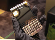 BlackBerry Porsche Design P'9981: Harrods titanium edition pictures and hands-on - photo 4