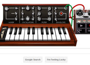 Robert Moog Google doodle best yet, even better than Les Paul - photo 1