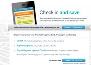 Foursquare partners with American Express for location based offers - photo 1
