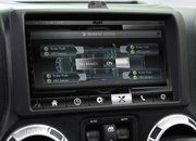 Jeep Wrangler with futuristic dashboard courtesy of RIM-owned QNX shown off - photo 4