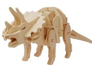 Robotic wooden dinosaurs that move, roar and even bite - photo 1
