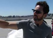 Sergey Brin shows off Google Project Glass sunglasses - photo 2