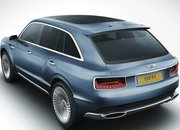 Bentley shows off its concept SUV complete with picnic hamper boot - photo 3