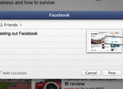 Facebook in OS X Mountain Lion details, we go hands-on - photo 4