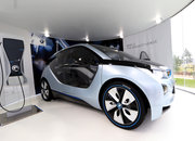 BMW i3 and i8 concept cars race into Olympic Park - photo 2