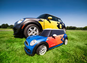BMW Mini MINI radio-controlled car to ferry javelins, discuses, hammers and shots at London 2012 - photo 1