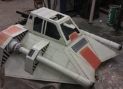 Star Wars Snowspeeder made into a sled (video) - photo 1