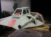 Star Wars Snowspeeder made into a sled (video) - photo 2