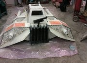 Star Wars Snowspeeder made into a sled (video) - photo 3